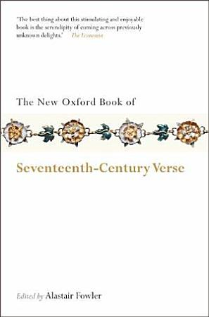 The New Oxford Book of Seventeenth Century Verse PDF