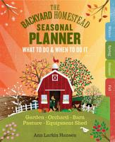 The Backyard Homestead Seasonal Planner PDF