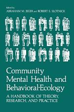 Community Mental Health and Behavioral-Ecology
