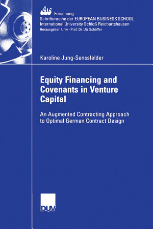 Equity Financing and Covenants in Venture Capital