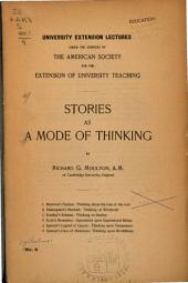 Stories as a Mode of Thinking