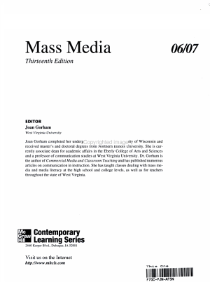 Mass Media PDF
