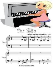 Fur Elise - Beginner Tots Piano Sheet Music