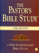 The Pastor's Bible Study Volume Five