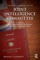 The Official History of the Joint Intelligence Committee PDF