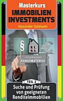 Suche Und Prufung Von Geeigneten Renditeimmobilien PDF
