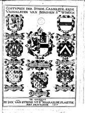 Costvmen der stede, casselrye, ende vassalryen van Berghen s.te Win[n]ocx