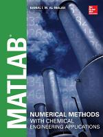 MATLAB Numerical Methods with Chemical Engineering Applications PDF
