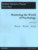 Student Solutions Manual for Mastering the World of Psychology PDF