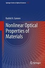 Nonlinear Optical Properties of Materials