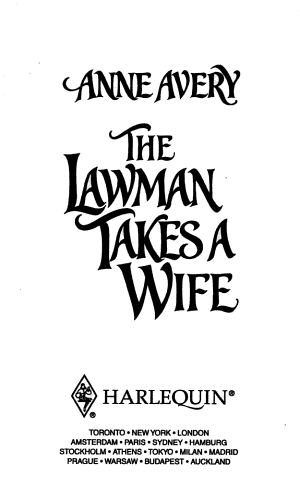 The Lawman Takes a Wife