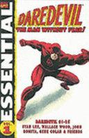 Essential Daredevil PDF