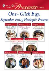One-Click Buy: September 2009 Harlequin Presents: The Prince's Captive Wife\The Billionaire's Bride of Vengeance\Bound by the Marcolini Diamonds\The Virgin Secretary's Impossible Boss\The Innocent's Dark Seduction\Mistress to the Merciless Millionaire