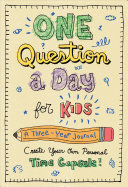 One Question a Day for Kids  A Three Year Journal