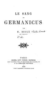 Le sang de Germanicus