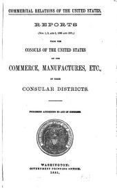 Commercial Relations of the United States