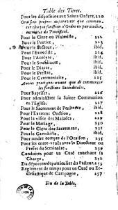 Conduites pour les exercices principaux qui se font dans les seminaires ecclesiastiques ; Dressées en faveur des Clercs demeurans dans le Seminaire de s. Nicolas du Chardonnet