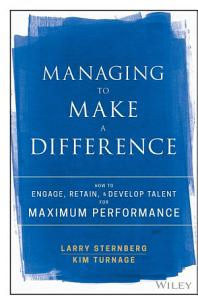 Managing to Make a Difference Book