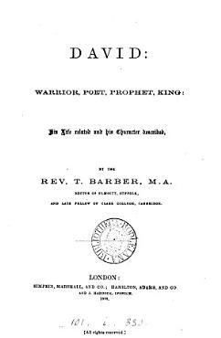 David  warrior  poet  prophet  king PDF