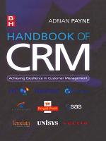 Handbook of CRM PDF
