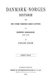 Danmark-Norges historie fra den store nordiske krigs slutning til rigernes adskillelse. (1720-1814).: bd.] Danmark-Norges historie under Kristian VI (1730-1746) 2 v