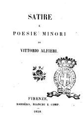 Satire e poesie minori di Vittorio Alfieri