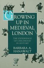 Growing Up in Medieval London