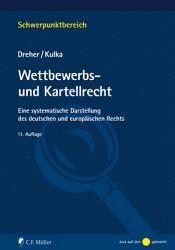 Wettbewerbs  und Kartellrecht PDF