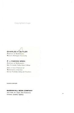 The Teaching of Secondary Mathematics PDF