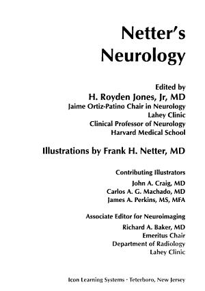 Netter s Neurology PDF