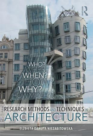 Research Methods and Techniques in Architecture PDF