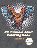 50 Animals Adult Coloring Book Volume 2 PDF