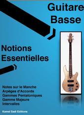 Guitare Basse Notions Essentielles