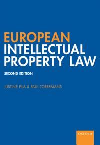European Intellectual Property Law PDF