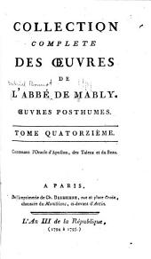 Collection complète de l'abbé de Mably: Volume 14