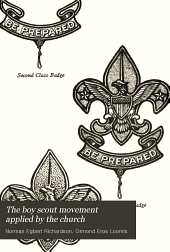 The boy scout movement applied by the church