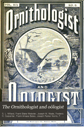 The Ornithologist and Oölogist: Volume 14