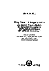 Mary Stuart  a tragedy  1801  von Joseph Charles Mellish PDF