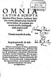 Omnia Latina Scripta