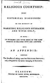 Religious Courtship PDF