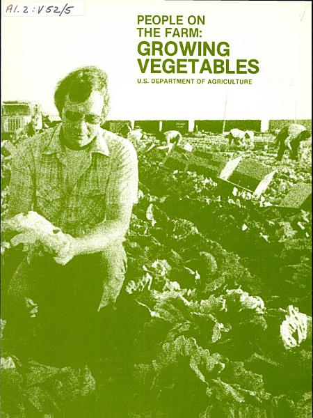 Download People on the Farm  Growing Vegetables Book