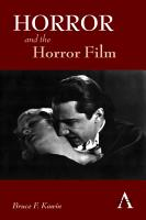 Horror and the Horror Film PDF