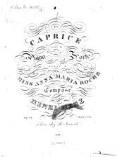 1er caprice: pour le piano forte ; op. 32