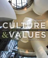 Culture and Values  A Survey of the Western Humanities  Volume 2 PDF