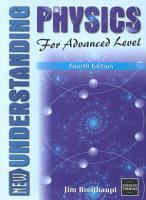 New Understanding Physics for Advanced Level PDF