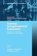 Surveys in Experimental Economics