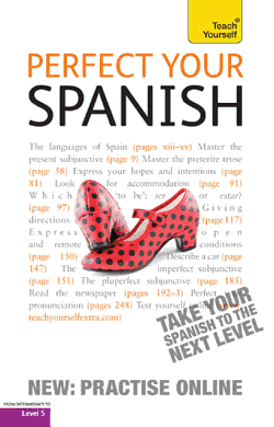 Perfect Your Spanish with Two Audio CDs  A Teach Yourself Guide PDF