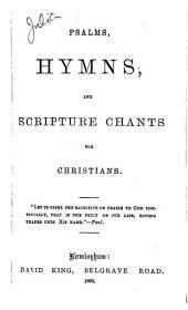 Psalms, hymns, and Scripture chants for Christians