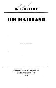 Jim Maitland PDF