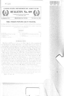 The Sweet-potato Leaf-folder